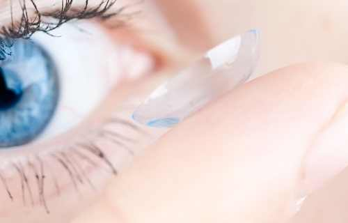 Silicone Hydrogel Contact Lenses