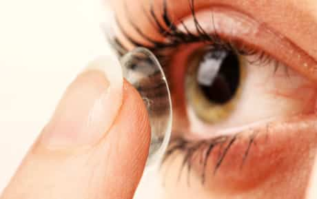 Some medications can cause ocular dryness leading to increased deposits on the contact lens.