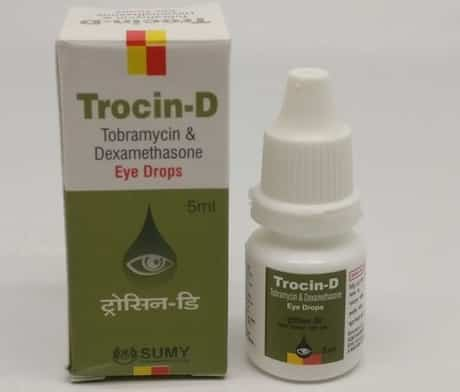 Tobramycin and Dexamethasone Eye Drops